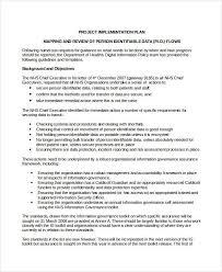 implementation plan template project implementation plan template