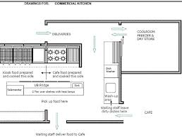 cafe kitchen floor plan commercial kitchen layout best layout room