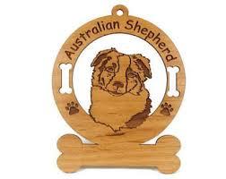 australian shepherd ornament etsy