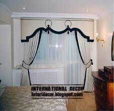 Black And White Curtain Designs Interior And Architecture 10 Classic Curtain Designs