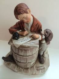 norman rockwell figurines collection on ebay