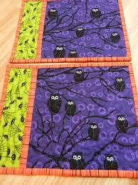 Quilted Mug Rug Pattern 117 Best Halloween Mug Rugs U0026 Mini Quilts Images On Pinterest