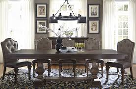 Liberty Dining Room Sets Lucca Dining Brown Double Pedestal Dining Room Set From Liberty