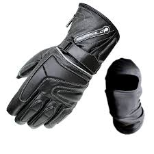 motorcycle gloves buffalo arctic waterproof wp thermal leather motorcycle scooter