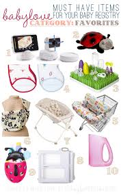 Top 10 Must Baby Items by Ka S List Of Must Baby Registry Recommendations Top 10