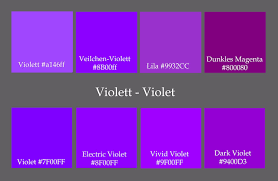 different shades of purple names amazing design shades of purple shades of purple names with color