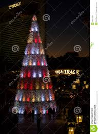 las vegas holiday christmas tree editorial photo image 50051606