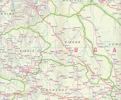 Map Of Uganda Travel Map Of Uganda Nelles Map U2013 Mapscompany