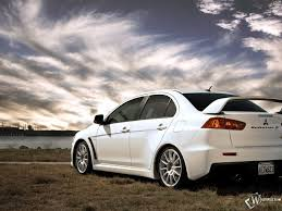 white mitsubishi lancer 88 entries in mitsubishi lancer wallpapers group