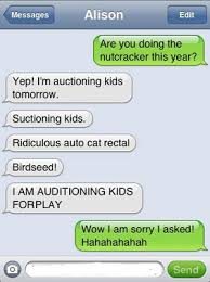 Text Message Memes - text message meme 022 auttocorrect auditioning kids funny text
