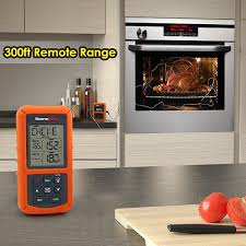 Backyard Grill Wireless Thermometer by Wireless Remote Digital Cooking Food Meat Thermometer With Dual