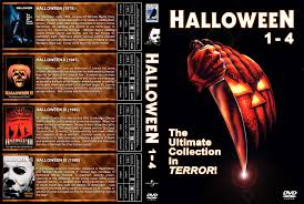 halloween 1 4 dvd cover 1978 1988 r1 custom