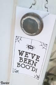 halloween printables you u0027ve been boo u0027d neighbor gift darice