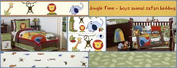 jungle time baby and kids bedding sets