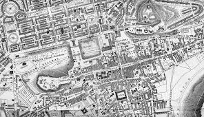 Edinburgh Map Edinburgh Map 1840 Enlarged