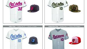 mlb unveils 2016 new special event orioles uniforms cbs baltimore