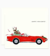 corvette birthday dear hancock paper goods santa corvette