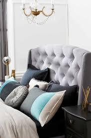 crawford upholstered bedhead light grey bedroom furniture