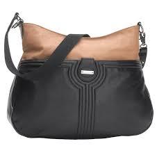 Ultra Tan Columbia Sc Amazon Com Storksak Nina Diaper Bag Black Tan Diaper Tote