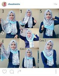 tutorial hijab turban untuk santai pin by rizki anjani on hijab tutorial pinterest indonesia