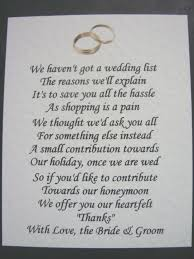 Wedding Money Gift Ideas Money Gift Wedding Poem