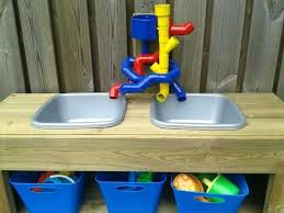 diy sand and water table pvc diy water table sand water play ideas recycled sink and pipe sand