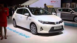 auris 2015 model toyota auris toyota auris hybrid youtube
