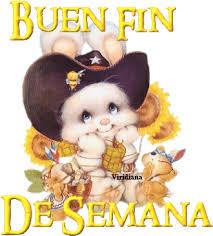 Imagenes Muy Bonitas De Fin De Semana | gatito con sombrero de vaquero te desea un buen fin de semana