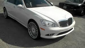 09 mercedes s550 dubsandtires com 2009 mercedes s550 review 22 inch white asanti