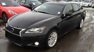 lexus gs coupe 2013 lexus certified pre owned black in saddle tan 2013 gs 350 awd