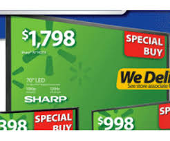black friday 2012 ad features 70 inch sharp sized led lcd