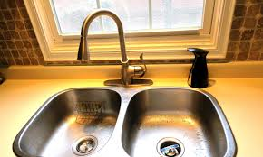 pewter installing a kitchen faucet wide spread two handle side