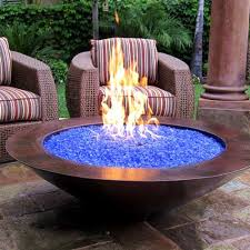 How To Lite A Fire Pit - diy outdoor firepit ideas glass fire pit fire glass and yards