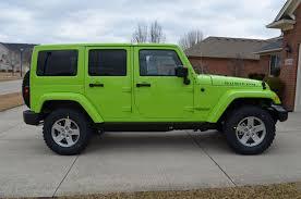 lime green jeep wrangler 2012 for sale 2012 jeep wrangler gecko green pfm page 4 jkowners com