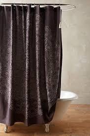 Dark Purple Shower Curtain Dark Brown Shower Curtain Pmcshop