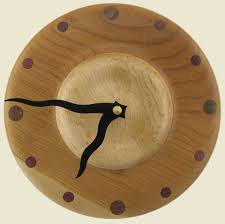 wood turned wall 54 best wooden clocks images on wood clocks wood
