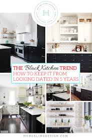 black kitchen cabinets images the black kitchen cabinet trend hungeling design