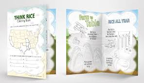 rice table for kids new coloring activity book lets kids get creative