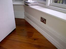 Skirting For Laminate Flooring Skirting Board Heating Installed By Thermaskirt Heating And