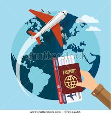 traveling the world images Traveling around world by plane vector stock vector 572044465 jpg