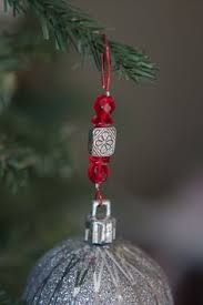fancy bead wired ornament hangers ooohhhh a must make for this