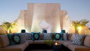 Moroccan Patio Furniture Alluring U Shaped Outdoor Sectional 9 Pcs Wicker Sectional Sofas
