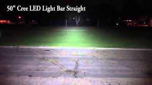 led light bar comparison led straight light bar vs led curved light bar comparison youtube
