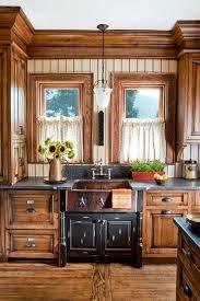 Wooden Kitchen Interior Design Country Kitchen Cabinets Designs Style Wooden Cabinet Simple