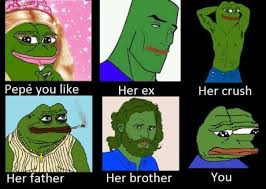 Sad Frog Meme - sad frog meme