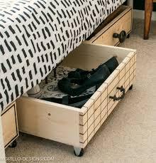 under bed storage diy diy under bed storage boxes a knobs guide grillo designs