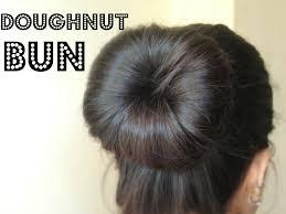 cool hair donut how to make a bun using a hair doughnut youtube