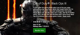 call of duty zombies apk 1 0 5 call of duty black ops 3 size revealed on xbox store