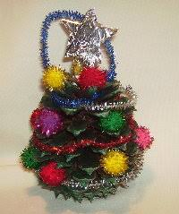 how to make a tree pine cone ornament