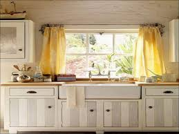 Long Kitchen Curtains by White Cafe Curtains Ruffle Cafe Curtains Want In My Kitchen